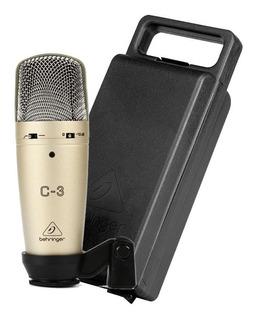 Microfono Condensador + Maleta (envio Gratis) C3 Behringer