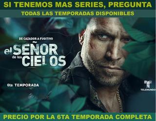 Pelicula Serie Tv El Señor De Los Cielos Temporada 6 Hd Dvd