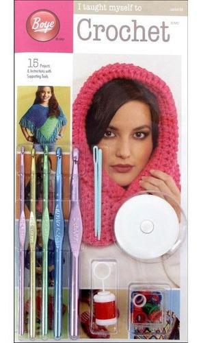 Kit De Crochet Boye I Taugh Myself To Crochet