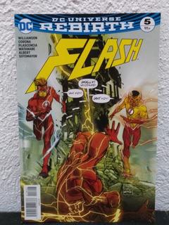 The Flash #5 Dc Rebirth Televisa