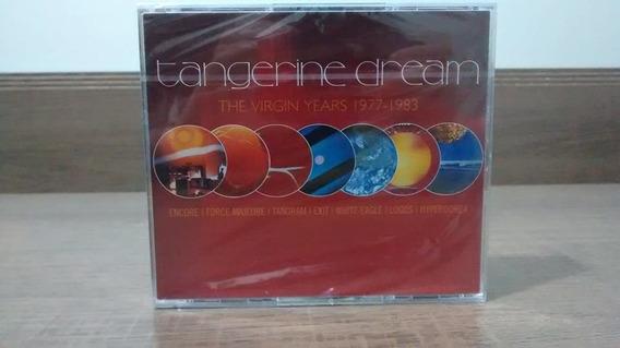Tangerine Dream The Virgin Years 77-83 Box C/ 7 Álbuns 5 Cds