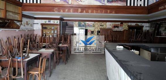 Loja À Venda, 310 M² Por R$ 1.400.000,00 - Centro - Santos/sp - Lo0014