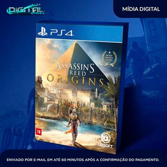 Assassins Creed Origins Ps4 Psn Original I Ptbr Envio 30 Min