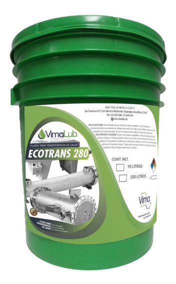 Aceite Térmico Transferencia De Calor Ecotrans 280 19 L