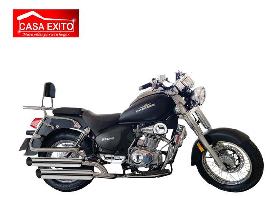 Moto Ranger Luxury 250-4 250cc Año 2020 Color Ro/ Ne/ Pla/bl