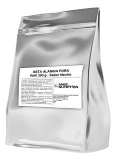 200g Beta Alanina Pura - Otimo Preço E Alta Qualidade Laudo