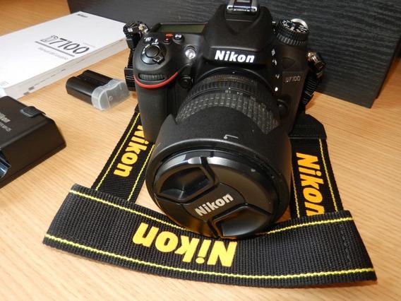 Nikon D-7100 + Lente Nikkor 18-135 | Nova | Frete Grátis