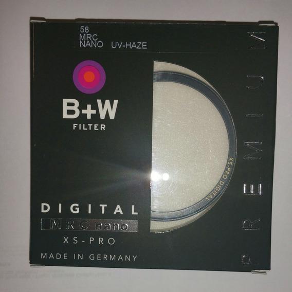 Filtro B+w 58mm Mrc Nano Uv Haze