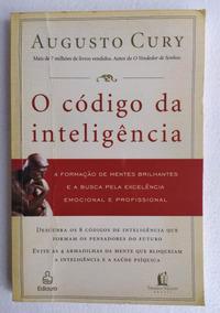 Livro Augusto Cury O Código Da Inteligência Sucesso Barato