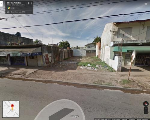 Imagen 1 de 3 de Terreno 243m2 Sobre Av P Diaz - Ideal Locales / Deptos