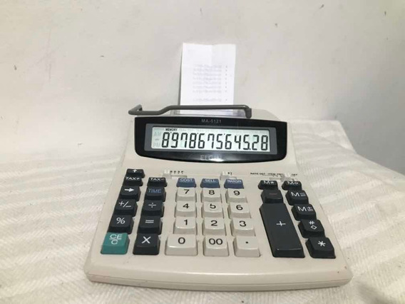 Calculadora De Mesa Elgin Ma 5121 Sem Fonte Funcionando 100%