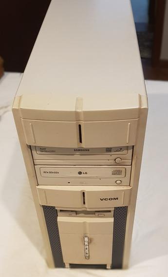 Cpu Pc Desktop Core 2 Duo E4600 2.4 Ghz - 4gb Ram - Hd 500 G