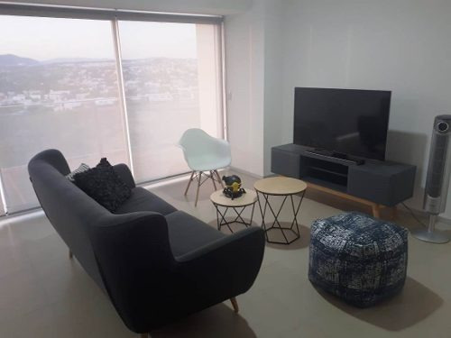 Renta De Departamento De Lujo, Nuevo Y Amueblado En Juriquilla Santa Fe, Querétaro