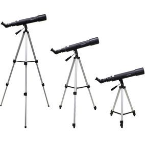 Telescopio Astronomico Binoculo Luneta 100km Com Tripé