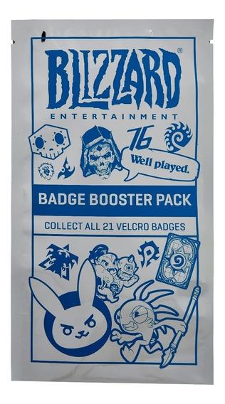 Blizzard Blizzcon Badge Booster Pack ( Emblemas Em Velcro )
