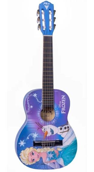 Violão Infantil Frozen Phx Disney Elsa E Olaf Vif-1 - Nf E Garantia - Promoção Dia Das Crianças