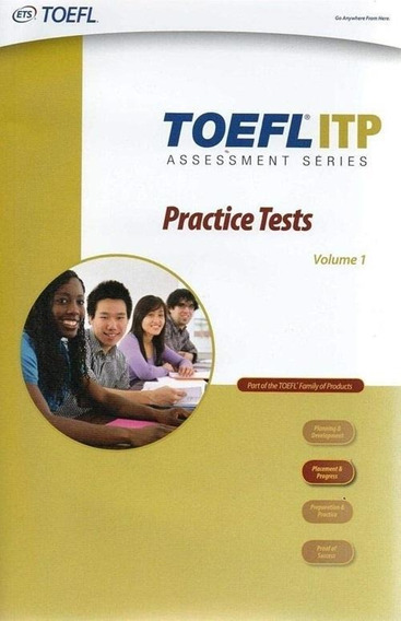 Toefl Itp - Practice Tests - Book With Cd Rom - Volume 1