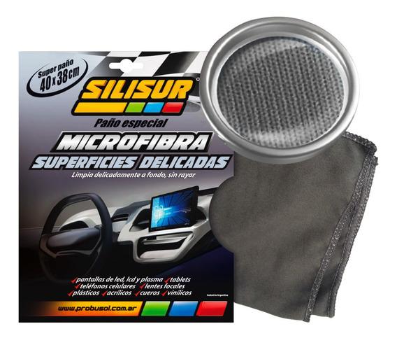 Silisur Paño Microfibra Superficies Delicadas 40x38cm