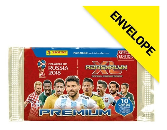 Cards Fifa Word Cup Rússia 2018 Adrenalyn Xl-contém 10 Cards