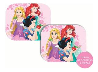 Juego Cortina Parasol Auto Lateral Plegable Disney Princesas