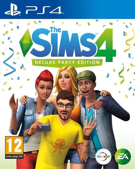 The Sims 4 Edição Festa Deluxe   Ps4 1   Promoção