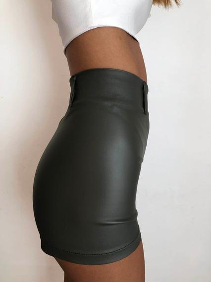 Short Engomado Mujer