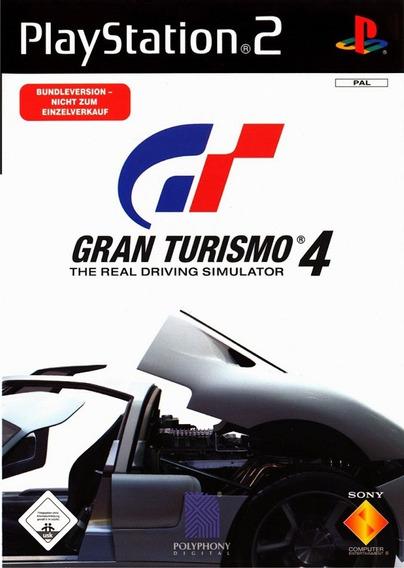 Jogo Ps2 Gran Turismo 4 Leia O Anúncio -c41-