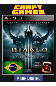 Diablo Iii 3 Reaper Of Souls Dlcs Ps3 Psn Digital Game Pt-br