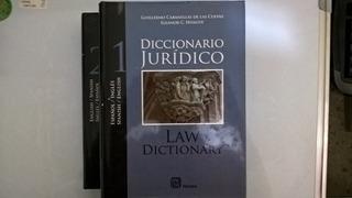 Diccionario Juridico Español / Ingles Cabanellas 2 Tomos