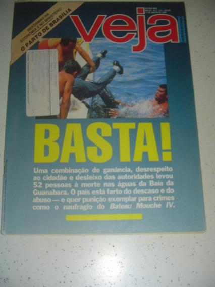 Revista Veja 1062 Tocantins Bateau Gloria Pire Tim Maia 1989