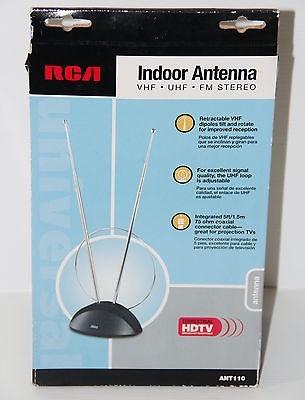 Antena Rca Ant110 Interna Vhf Uhf Fm Hdtv