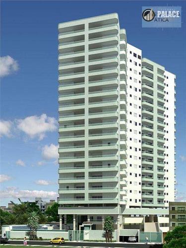Apartamento Residencial À Venda, Caiçara, Praia Grande - . - Ap1484