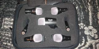 Set De Micrófonos Cad Stage 7