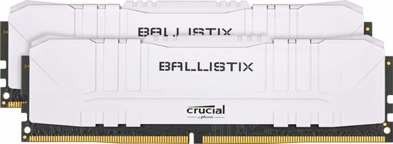 Memoria Crucial Ballistix 3000mhz Ddr4 16gb 8gbx2 Cl15 8g30c