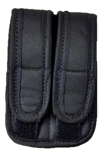 Porta Carregador Duplo De Pistola Tático Militar Resistente