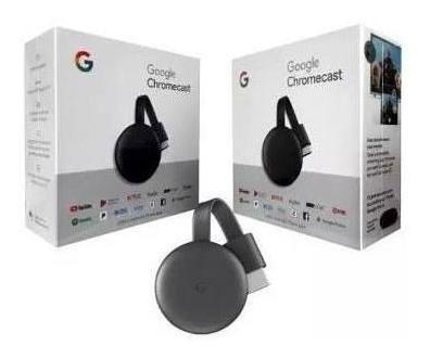 Chromecast 3 Novo Google Chrome 3geraçao Original Lacrado