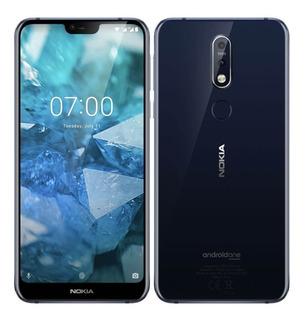 Nokia 7.1 (doble Camara Lente Zeiss, 64gb, 4gb Ram)
