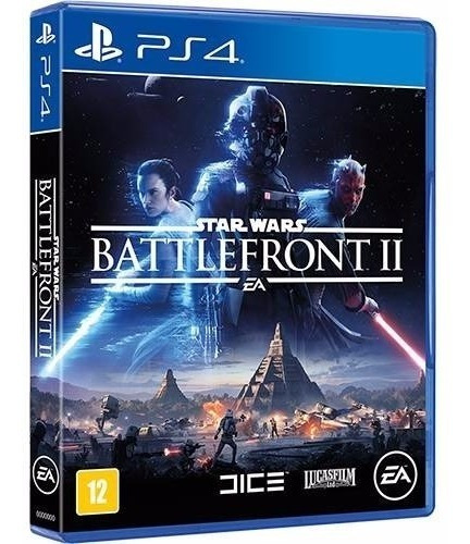 Jogo Midia Fisica Star Wars Battlefront 2 Original Ps4