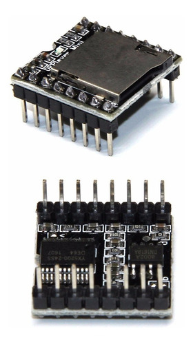 Reproductor Mp3 Mini Dfplayer Wav Y Wma Df-player Arduino