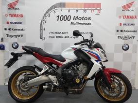Honda Cb 650 F Abs 2015 Otimo Estado Aceito Moto