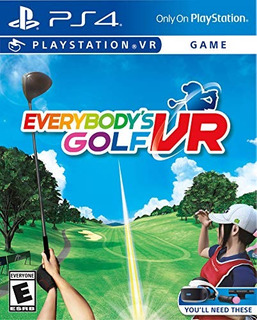 Ps4 Everybody S Golf Vr