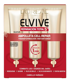 Loreal Elvive Amp Cell-repair X 3 Unid Reparacion Total 5