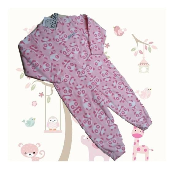 Kit 2 Macacão Infantil Soft Menina 1 A 8 Anos Roupa Pijama