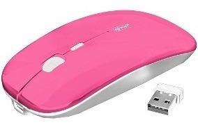Mouse Óptico Recarregável 2.4 Ghz Sem Fio 1600 Dpi Knup G21