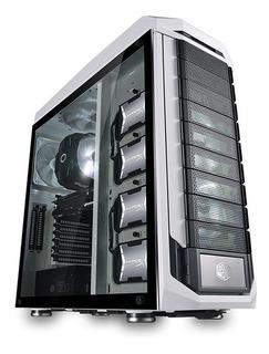 Gabinete Atx Cooler Master Stryker Se Metal Vidrio Fan Nnet
