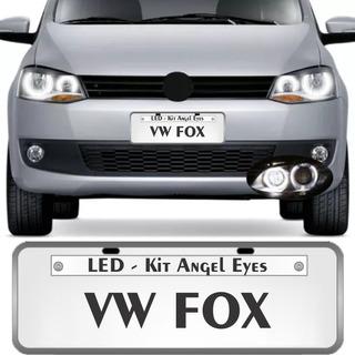 Angel Eyes Kit 4 Pcs Farol Novo Fox Space Todos Os Modelos
