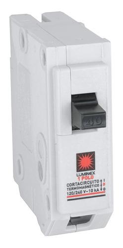 Breker 1 X20   Enchufable Protección Automatico