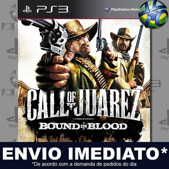Call Of Juarez Bound In Blood Ps3 Psn Jogo Em Promoção