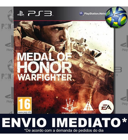 Medal Of Honor Warfighter Ps3 Midia Digital Envio Imediato