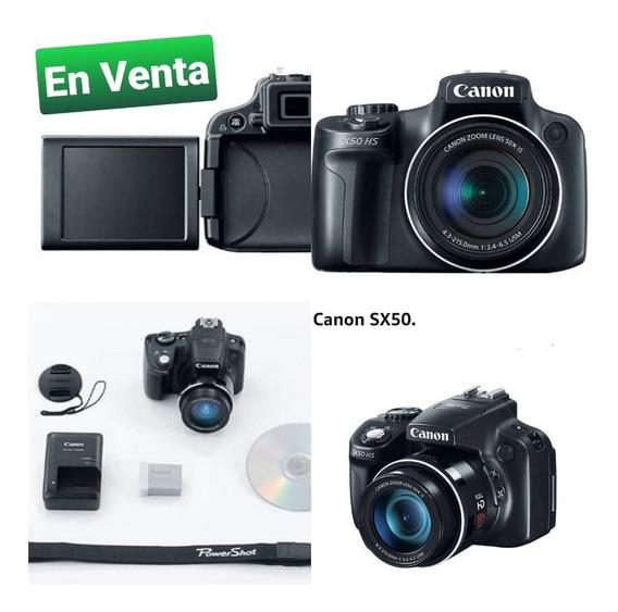 Cámara Profesional Canon Sx50
